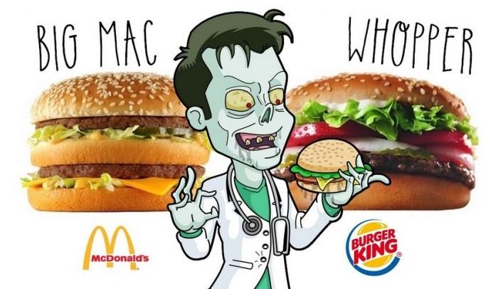 Big Mac vs Whopper : lequel est le pire ?