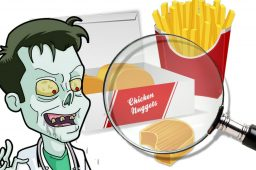 Autopsie d'un Nuggets de chez McDonald's