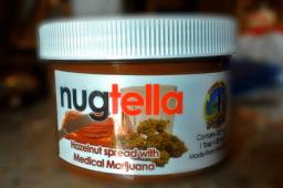 Du Nutella au Cannabis en vente en Californie
