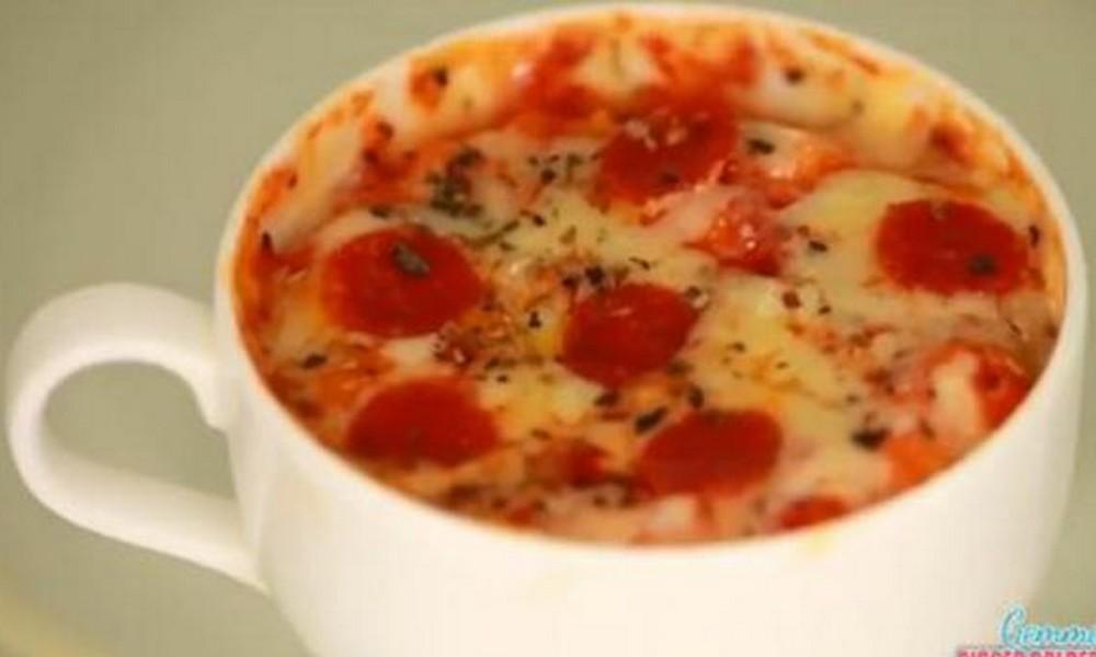 Le mug pizza : la nouvelle tendance des pizza-addicts !