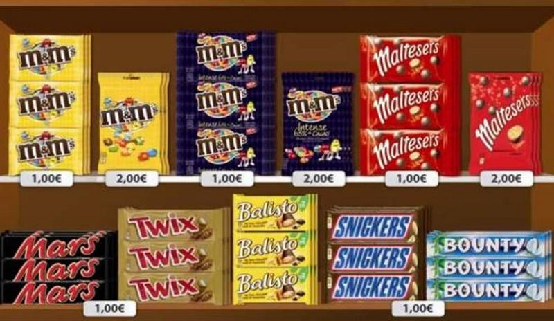 Les 11 barres chocolatées les plus caloriques