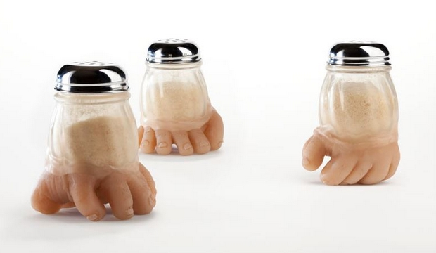 Des ustensiles de cuisine en forme de corps humain
